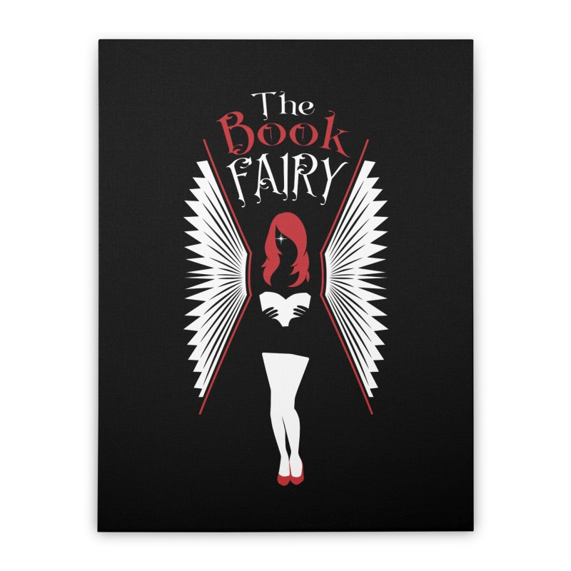The Book Fairy Home Stretched Canvas by Grandio Design Artist Shop