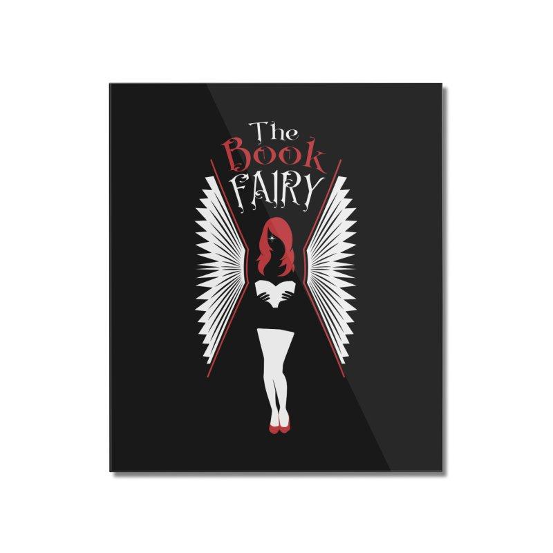 The Book Fairy Home Mounted Acrylic Print by Grandio Design Artist Shop