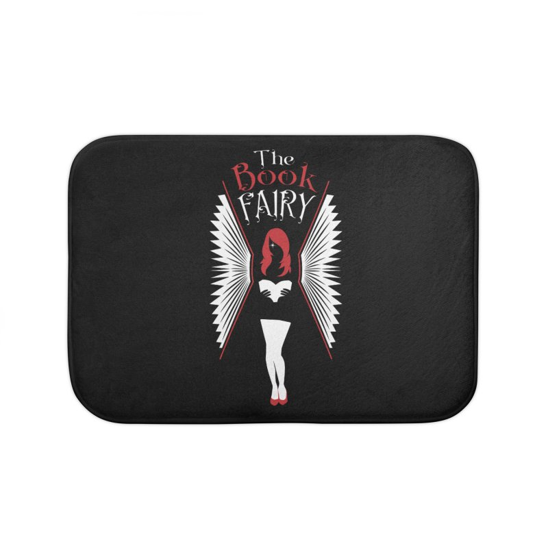 The Book Fairy Home Bath Mat by Grandio Design Artist Shop