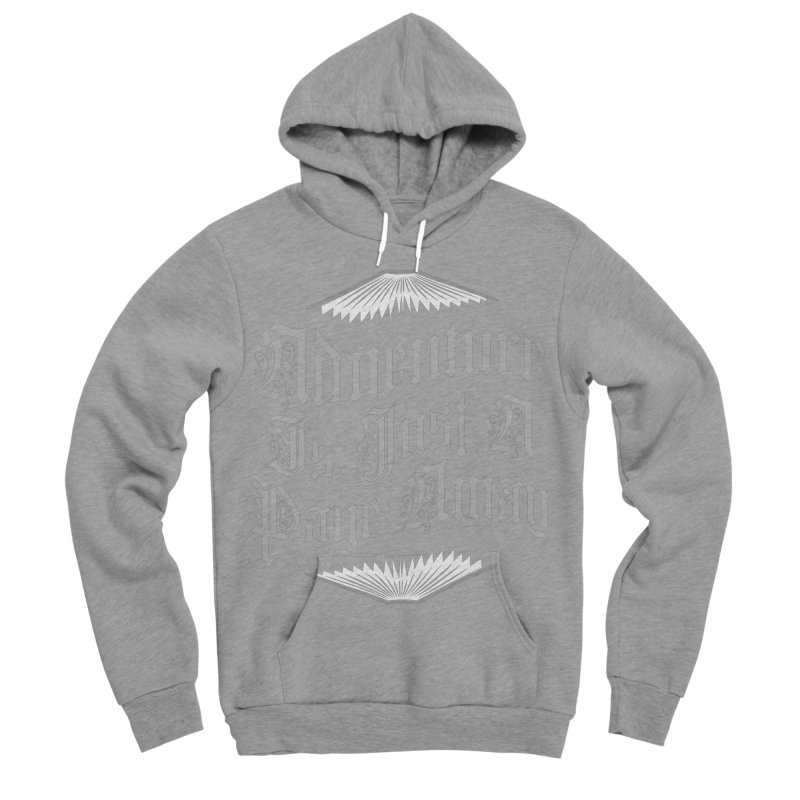 Adventure Is Just A Page Away Women's Sponge Fleece Pullover Hoody by Grandio Design Artist Shop