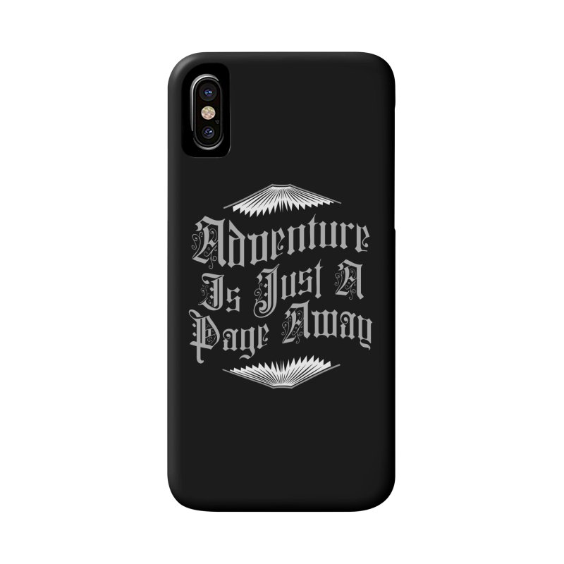 Adventure Is Just A Page Away Accessories Phone Case by Grandio Design Artist Shop