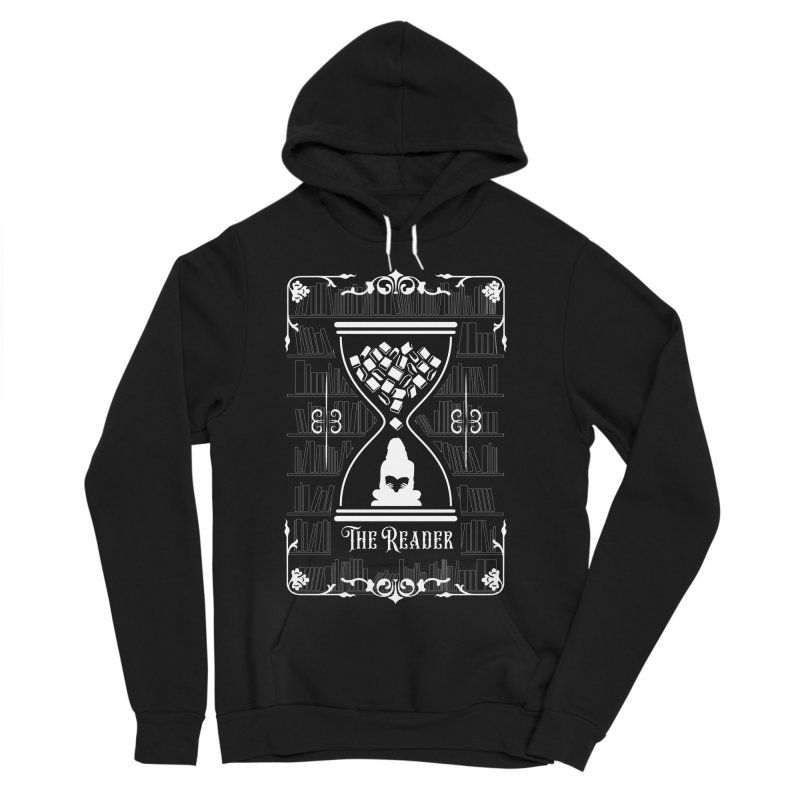 The Reader Tarot Card Women's Sponge Fleece Pullover Hoody by Grandio Design Artist Shop