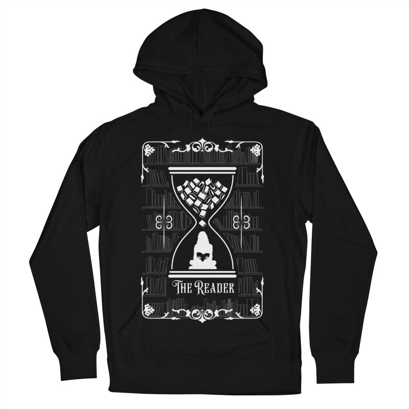 The Reader Tarot Card Women's French Terry Pullover Hoody by Grandio Design Artist Shop