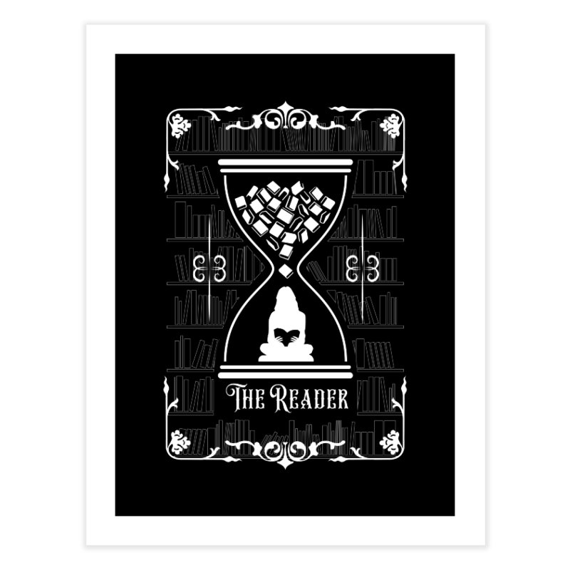 The Reader Tarot Card Home Fine Art Print by Grandio Design Artist Shop
