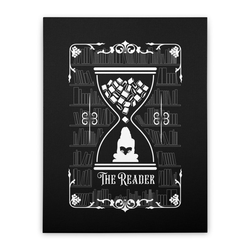 The Reader Tarot Card Home Stretched Canvas by Grandio Design Artist Shop