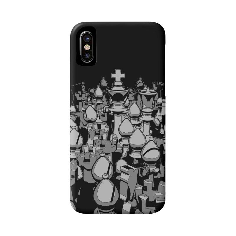 The Chess Crowd Accessories Phone Case by Grandio Design Artist Shop