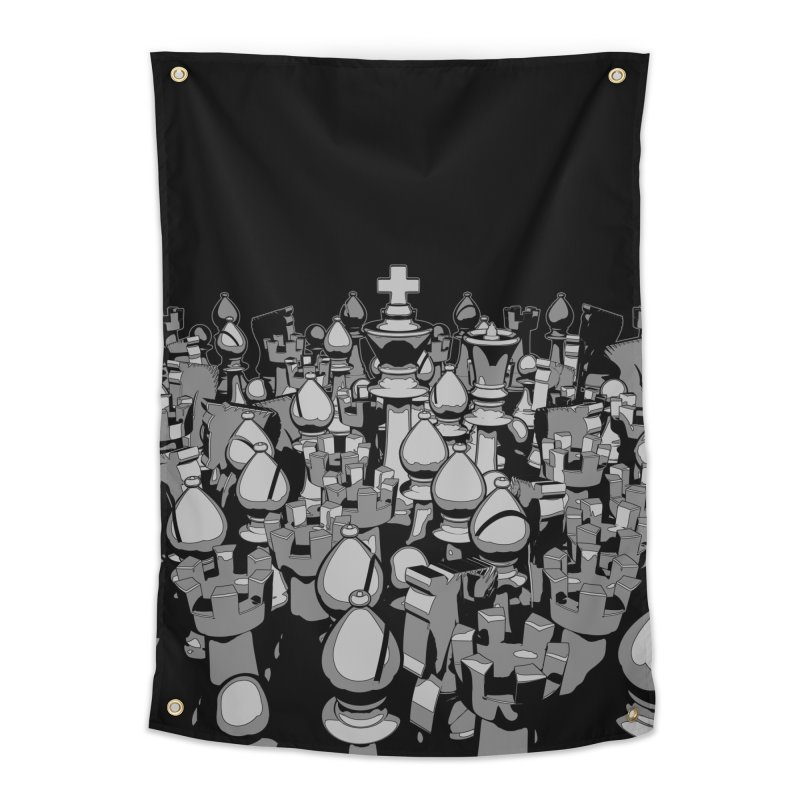 The Chess Crowd Home Tapestry by Grandio Design Artist Shop