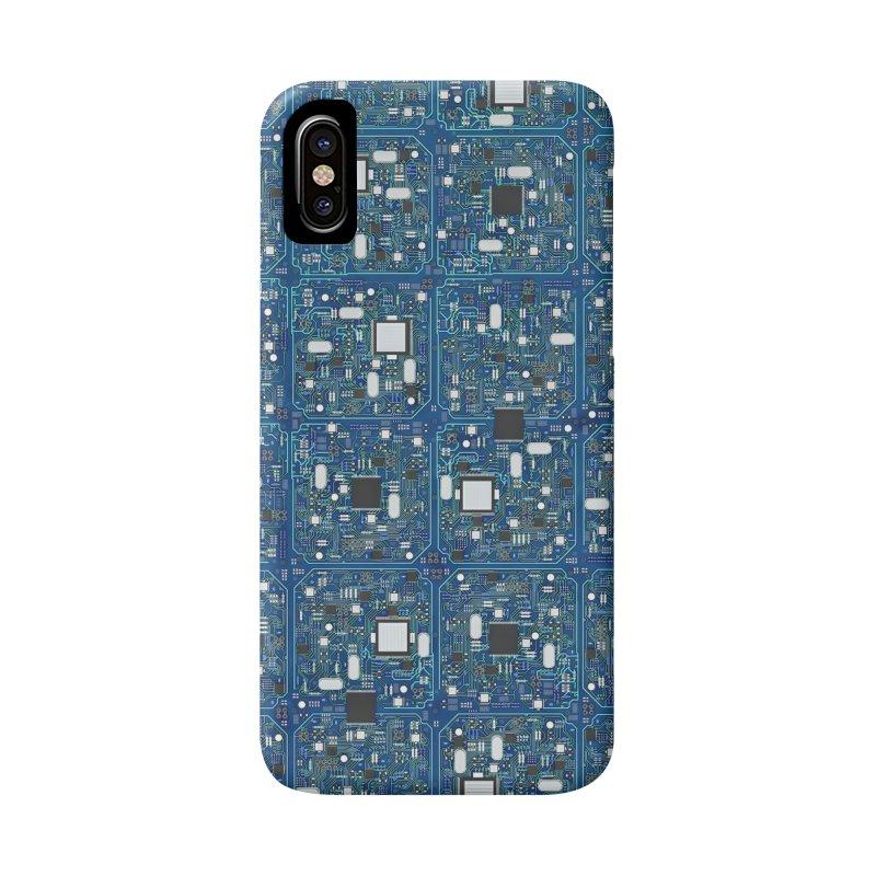 Ultimate Circuit Board Accessories Phone Case by Grandio Design Artist Shop