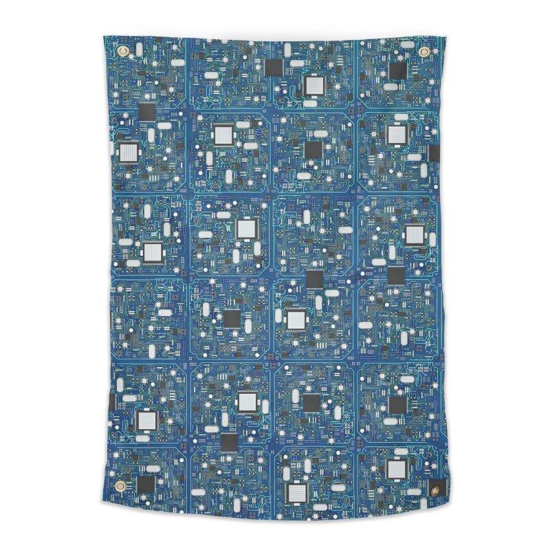 Ultimate Circuit Board Home Tapestry by Grandio Design Artist Shop