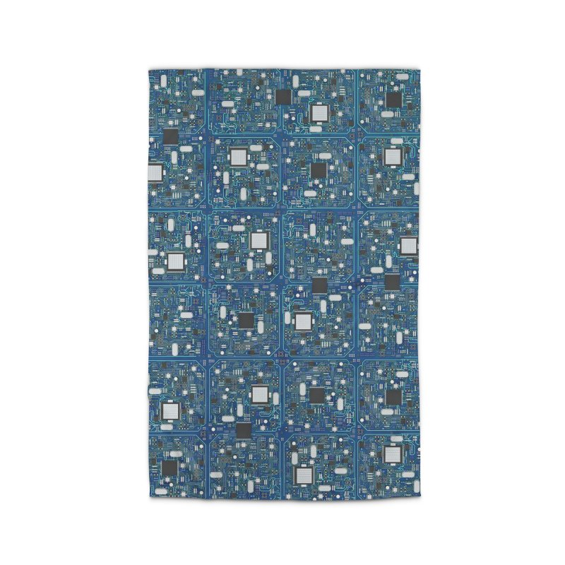 Ultimate Circuit Board Home Rug by Grandio Design Artist Shop