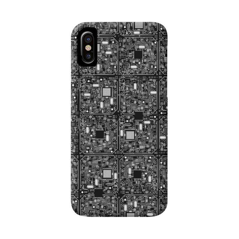 Serious Circuitry Accessories Phone Case by Grandio Design Artist Shop