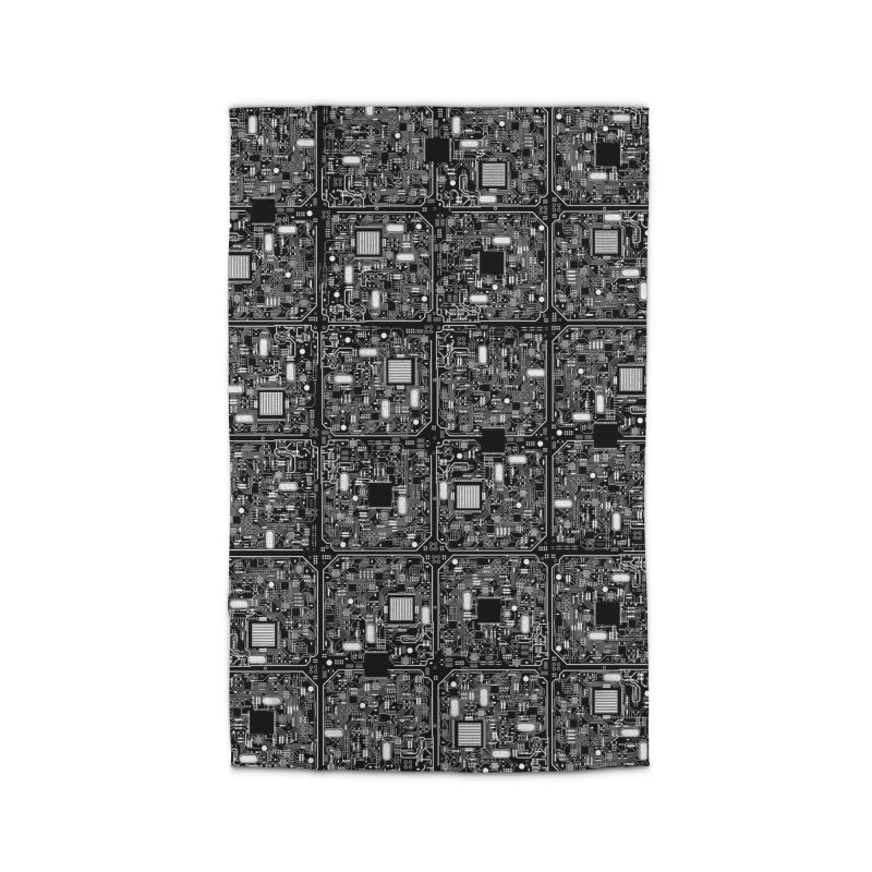 Serious Circuitry Home Rug by Grandio Design Artist Shop