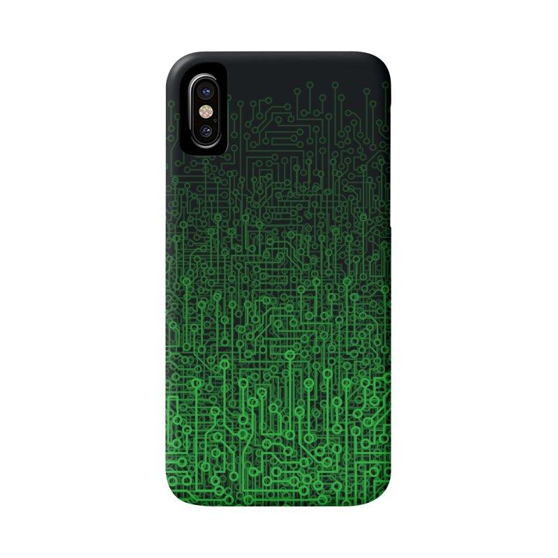 Reboot II GREEN Accessories Phone Case by Grandio Design Artist Shop