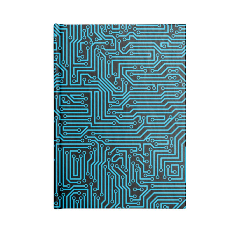 Reboot BLUE Accessories Notebook by Grandio Design Artist Shop
