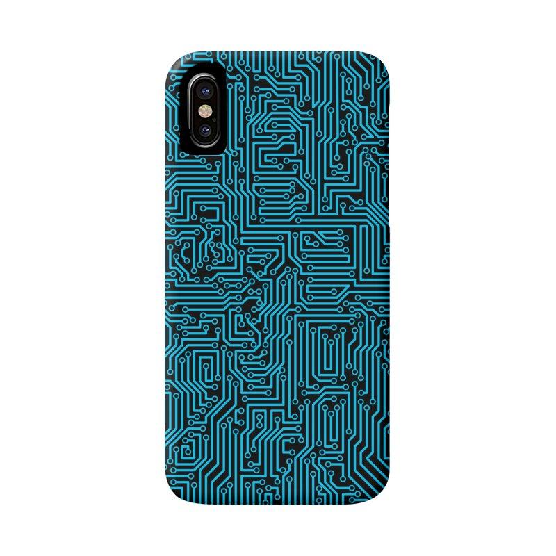 Reboot BLUE Accessories Phone Case by Grandio Design Artist Shop