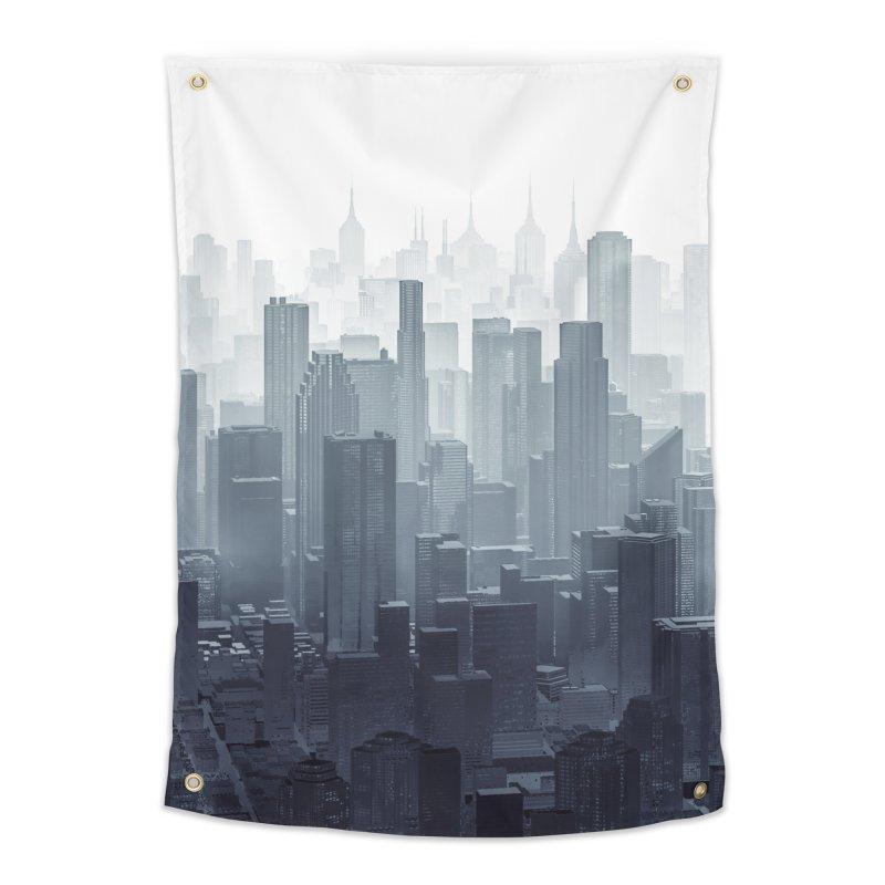 City Haze Home Tapestry by Grandio Design Artist Shop