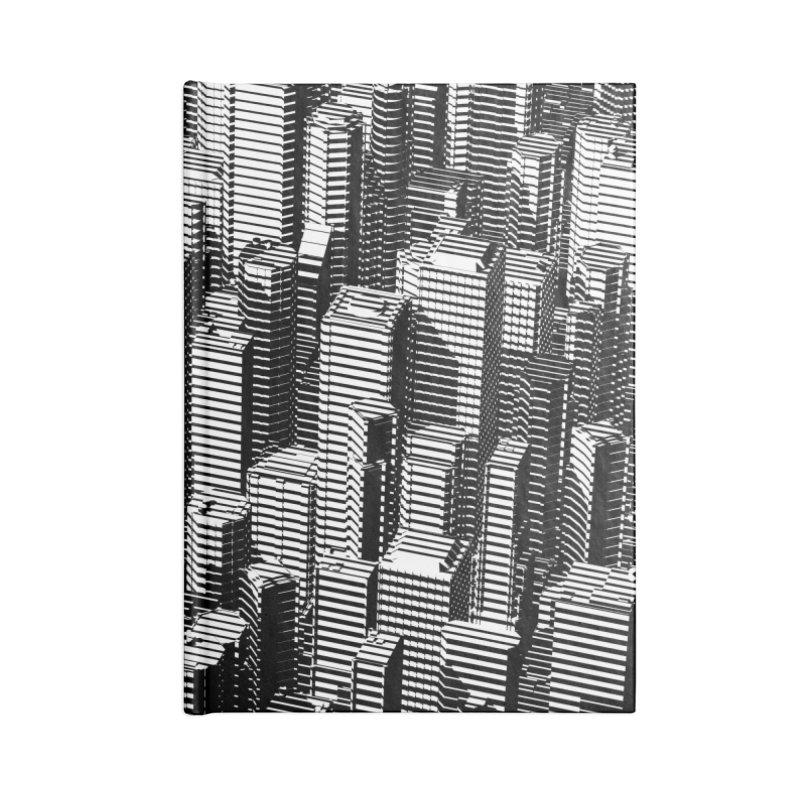 Urban Lines B&W Accessories Notebook by Grandio Design Artist Shop