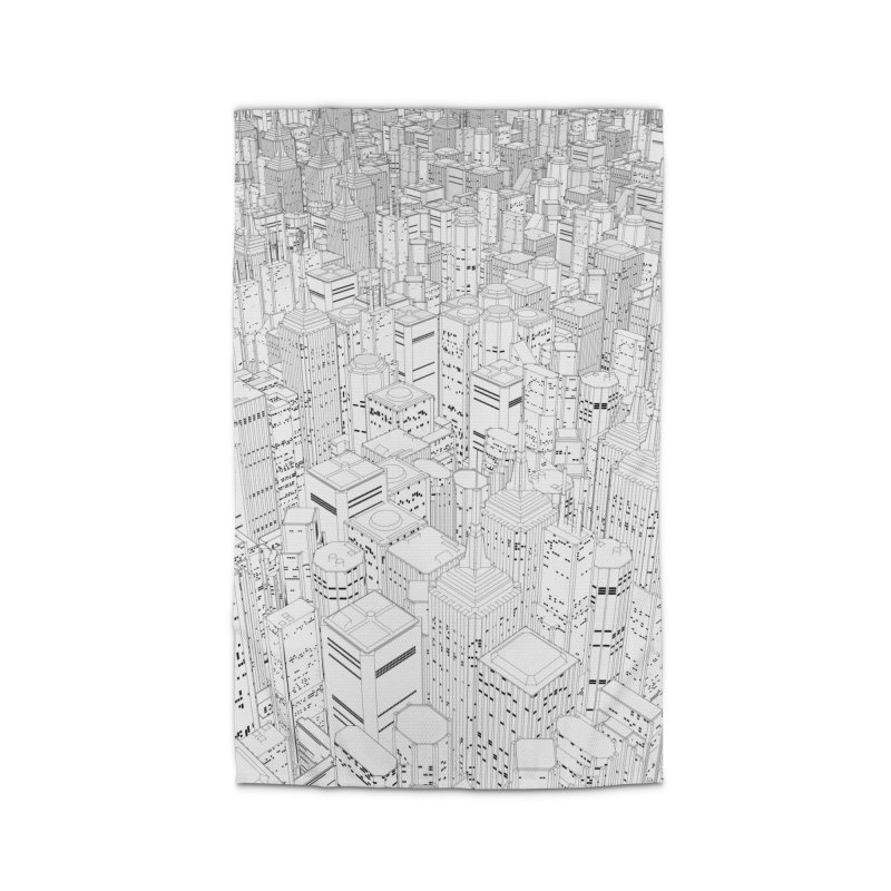 Metropolis Home Rug by Grandio Design Artist Shop