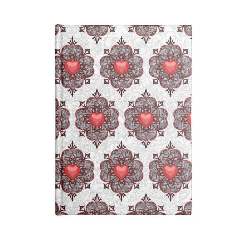 Clockwork Hearts Accessories Notebook by Grandio Design Artist Shop