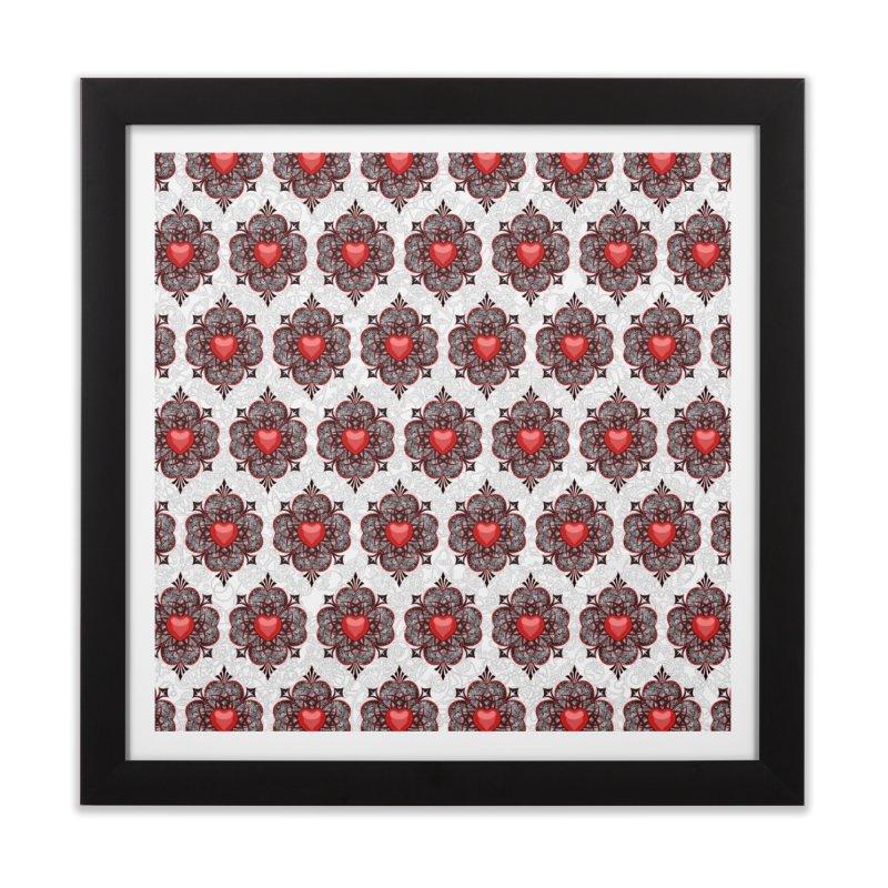 Clockwork Hearts Home Framed Fine Art Print by Grandio Design Artist Shop