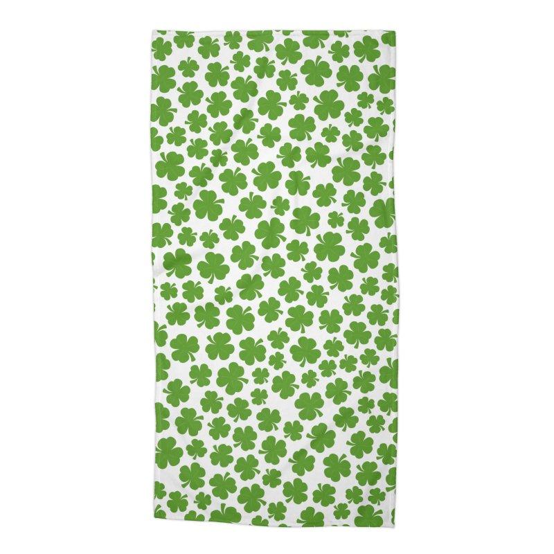 Shamrockadelic Accessories Beach Towel by Grandio Design Artist Shop
