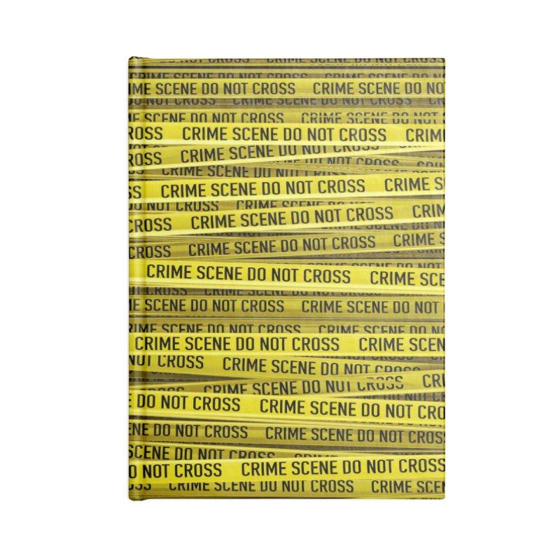 Crime Scene Accessories Notebook by Grandio Design Artist Shop