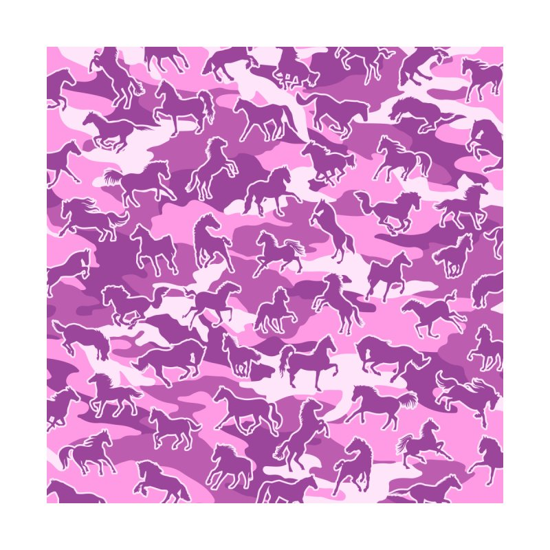 Horse Camo PINK by Grandio Design Artist Shop