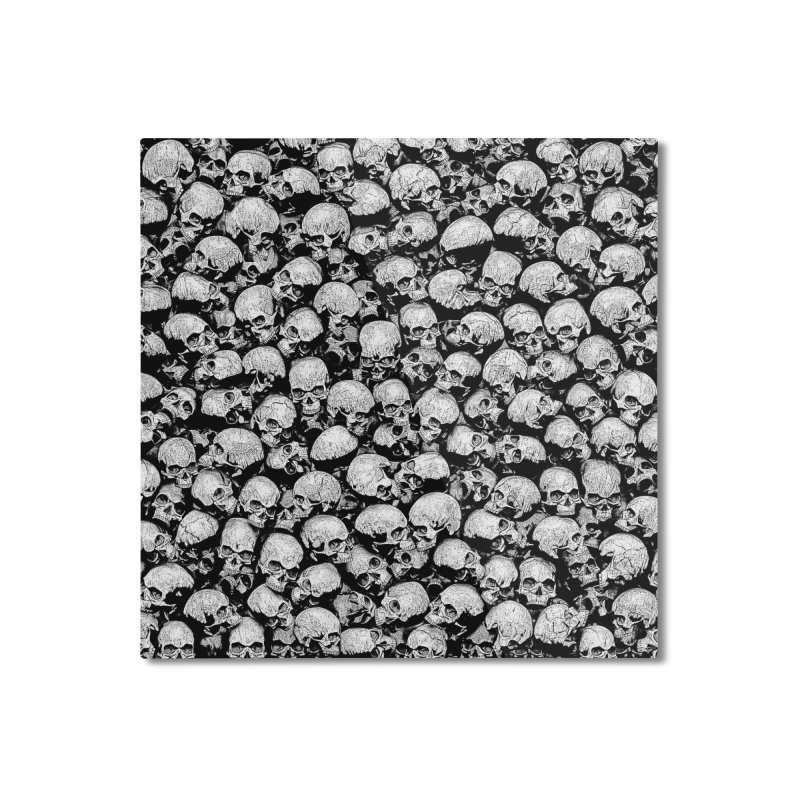Totally Gothic II Home Mounted Aluminum Print by Grandio Design Artist Shop