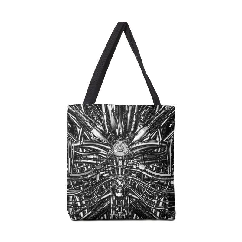 The Machine Accessories Tote Bag Bag by Grandio Design Artist Shop