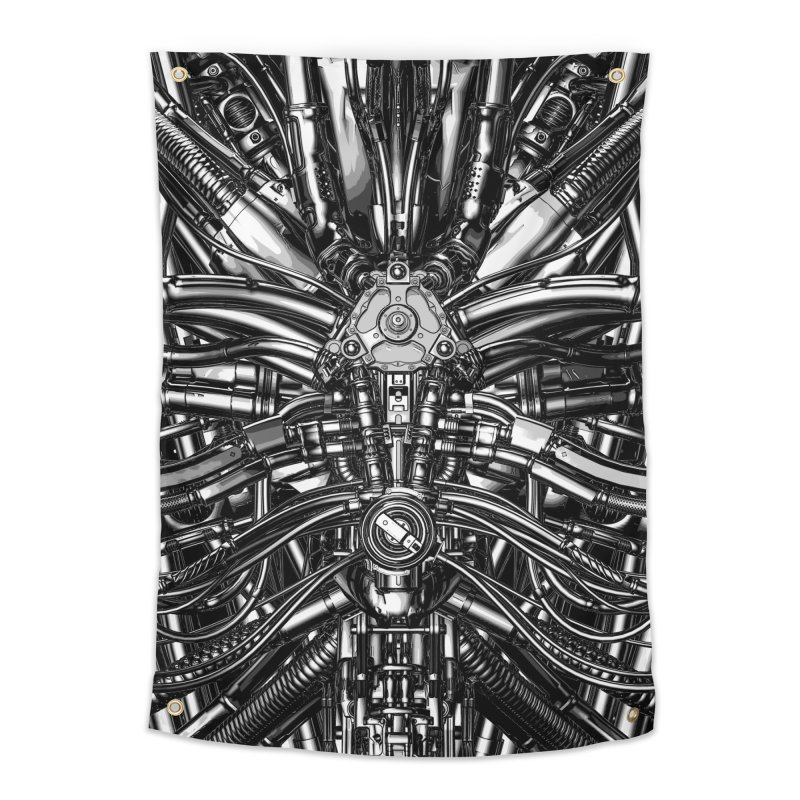 The Machine Home Tapestry by Grandio Design Artist Shop