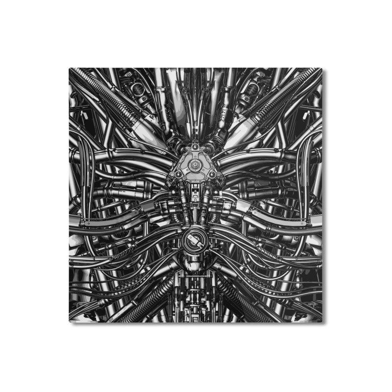 The Machine Home Mounted Aluminum Print by Grandio Design Artist Shop