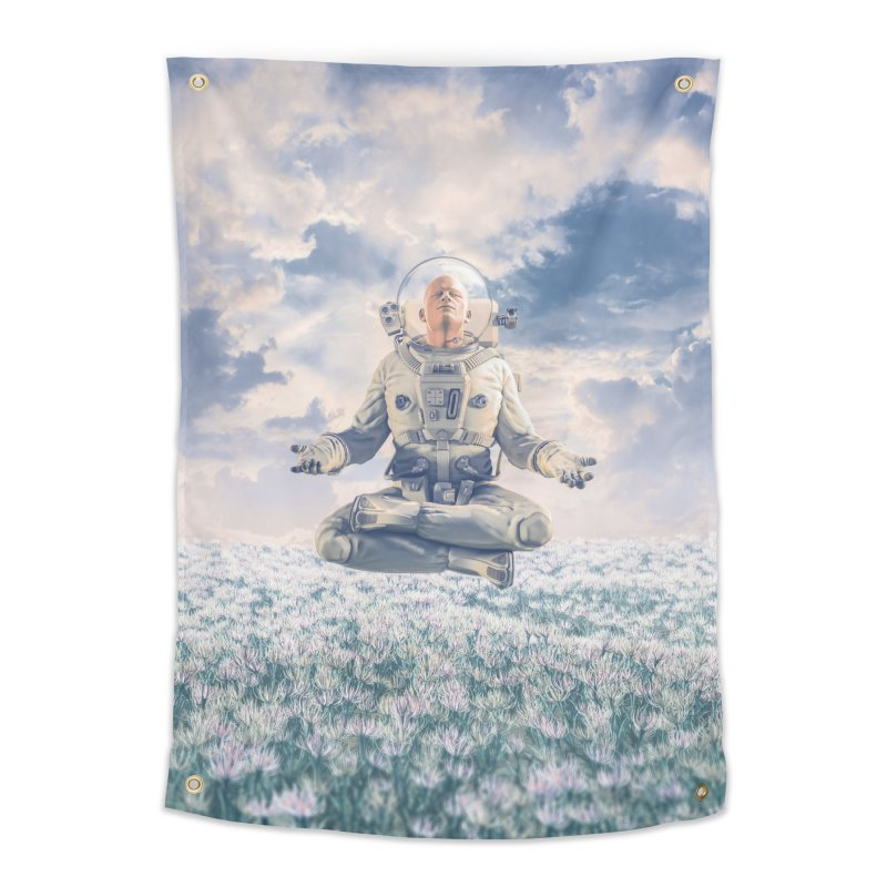 Dreamer In The Field Home Tapestry by Grandio Design Artist Shop