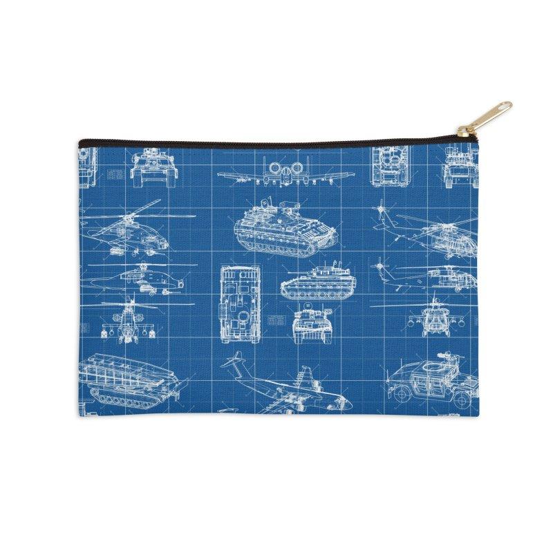 Classified Accessories Zip Pouch by Grandio Design Artist Shop