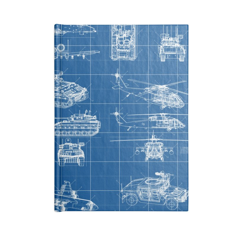 Classified Accessories Lined Journal Notebook by Grandio Design Artist Shop