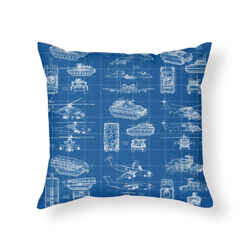 Classified Home Throw Pillow by Grandio Design Artist Shop