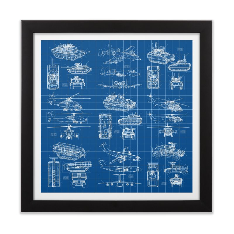 Classified Home Framed Fine Art Print by Grandio Design Artist Shop