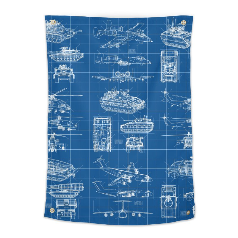 Classified Home Tapestry by Grandio Design Artist Shop