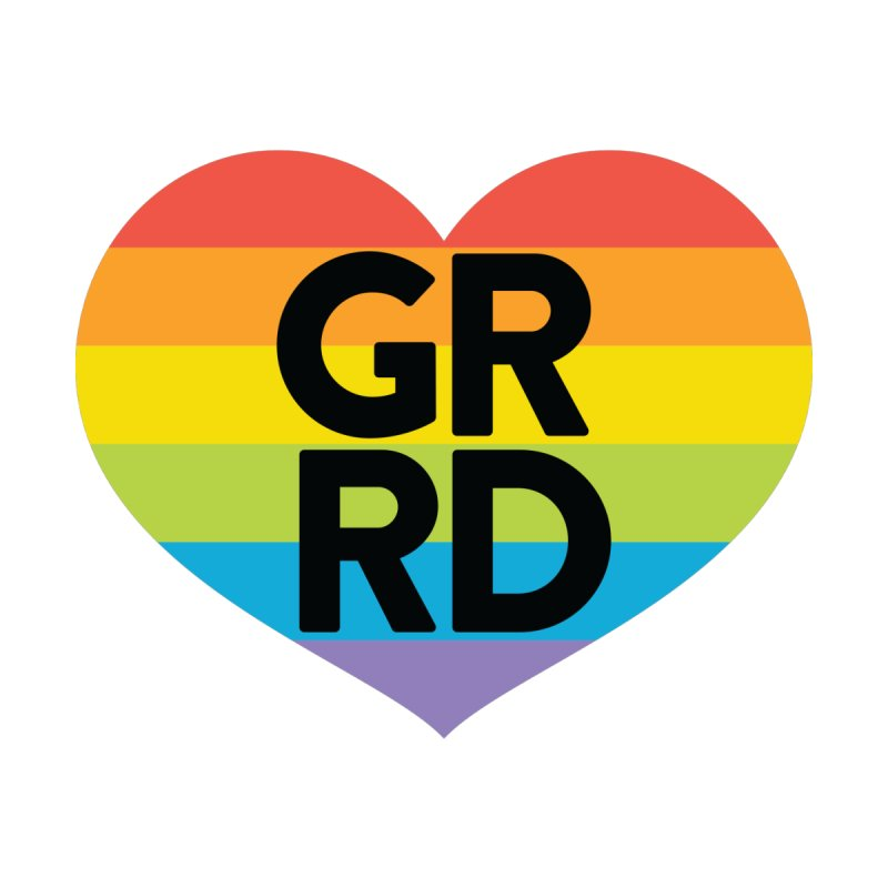 GRRD Pride Men's T-Shirt by Grand Raggidy Roller Derby