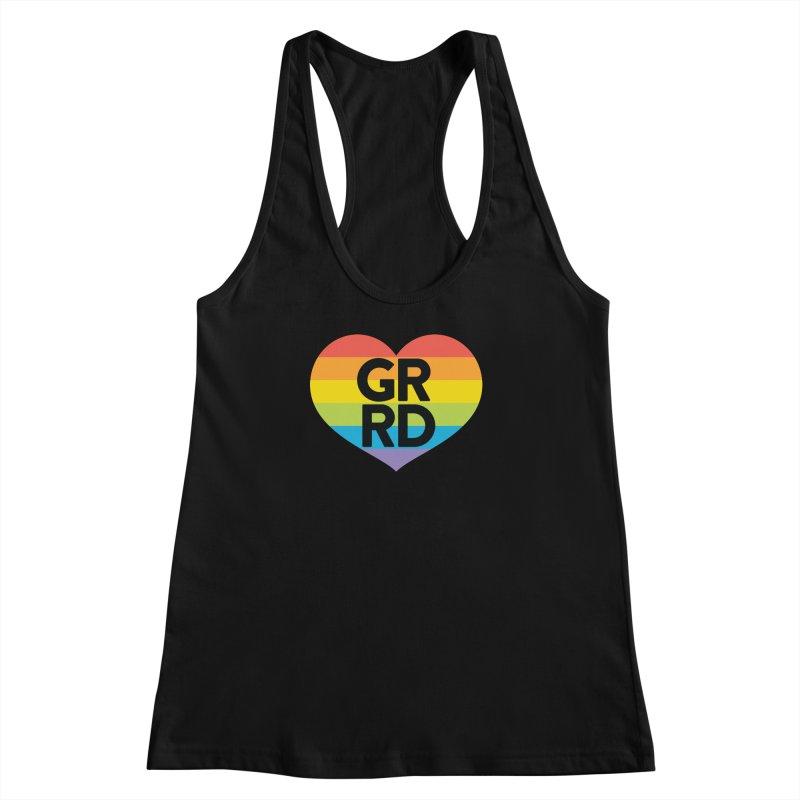 GRRD Pride Women's Racerback Tank by Grand Raggidy Roller Derby