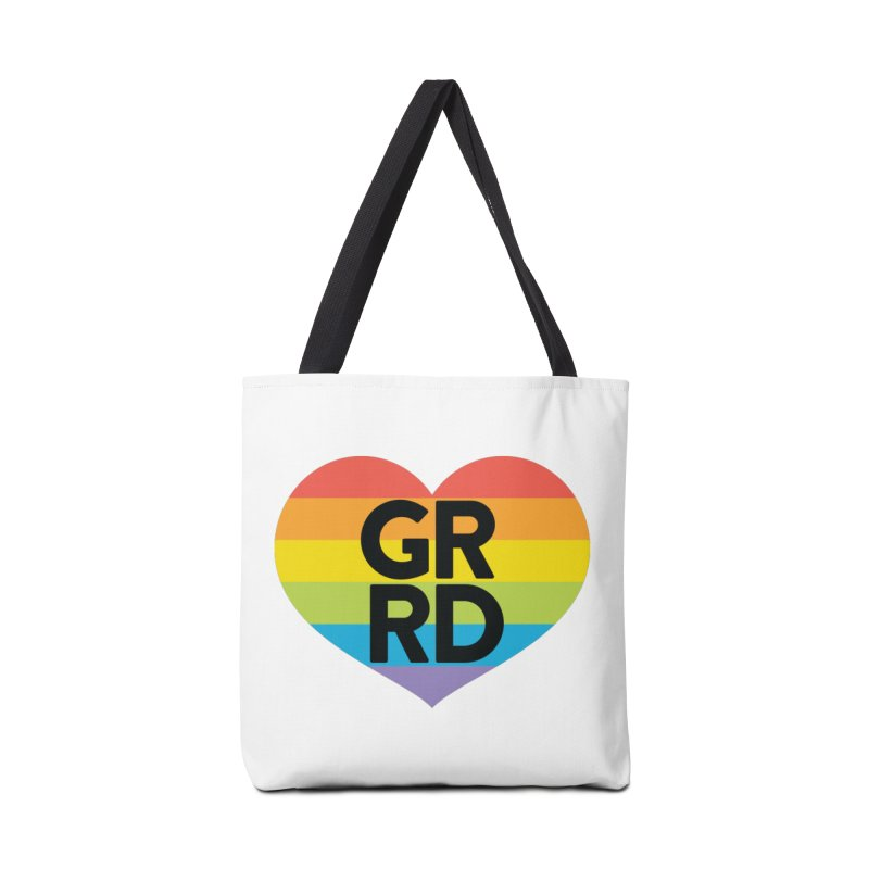 GRRD Pride Accessories Tote Bag Bag by Grand Raggidy Roller Derby