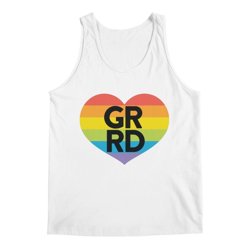 GRRD Pride Men's Regular Tank by Grand Raggidy Roller Derby