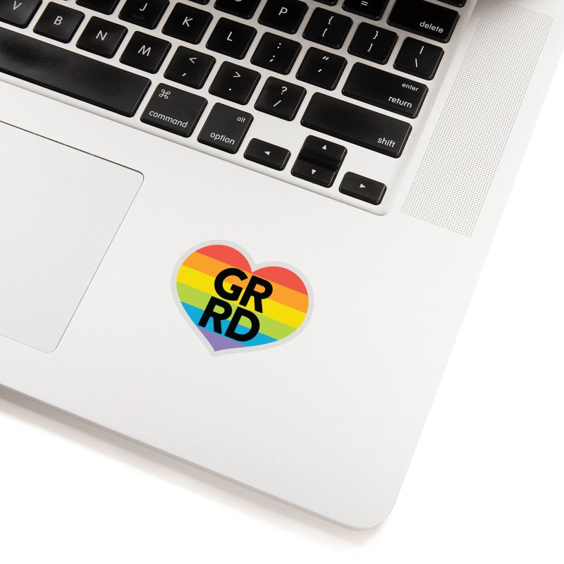 GRRD Pride Accessories Sticker by Grand Raggidy Roller Derby