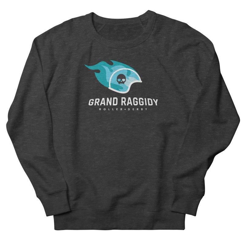 Flame Logo - Reverse Women's Sweatshirt by Grand Raggidy Roller Derby