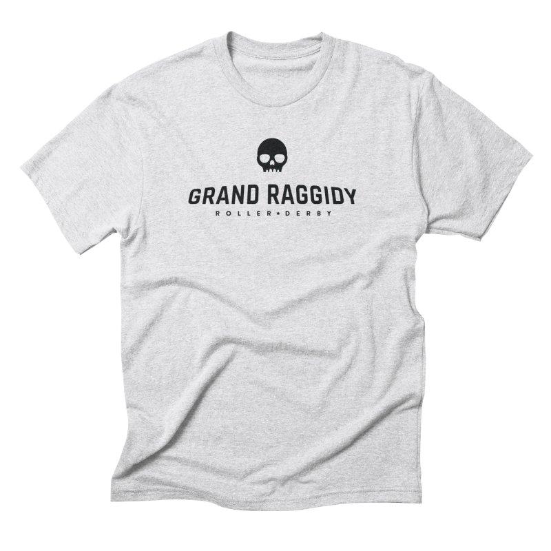 Skull Logo Men's T-Shirt by Grand Raggidy Roller Derby