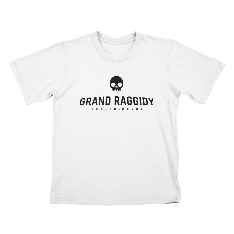Skull Logo Kids T-Shirt by Grand Raggidy Roller Derby