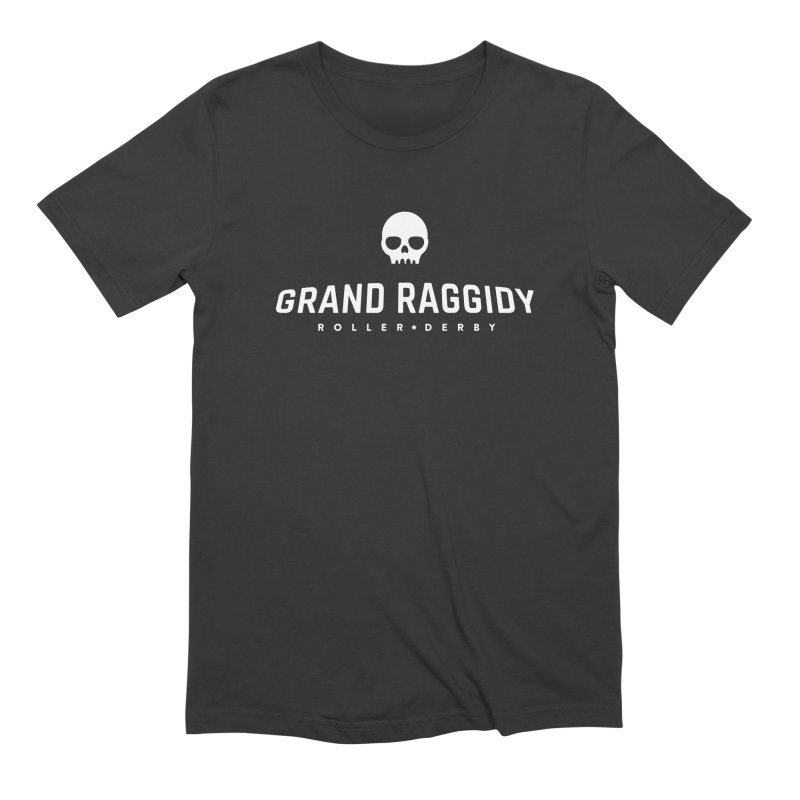 Skull Logo - Reverse Men's T-Shirt by Grand Raggidy Roller Derby