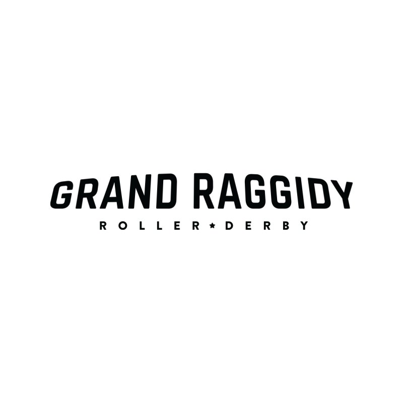 Wordmark Women's T-Shirt by Grand Raggidy Roller Derby