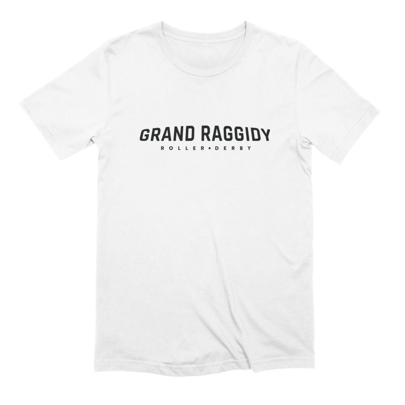 Wordmark Men's T-Shirt by Grand Raggidy Roller Derby