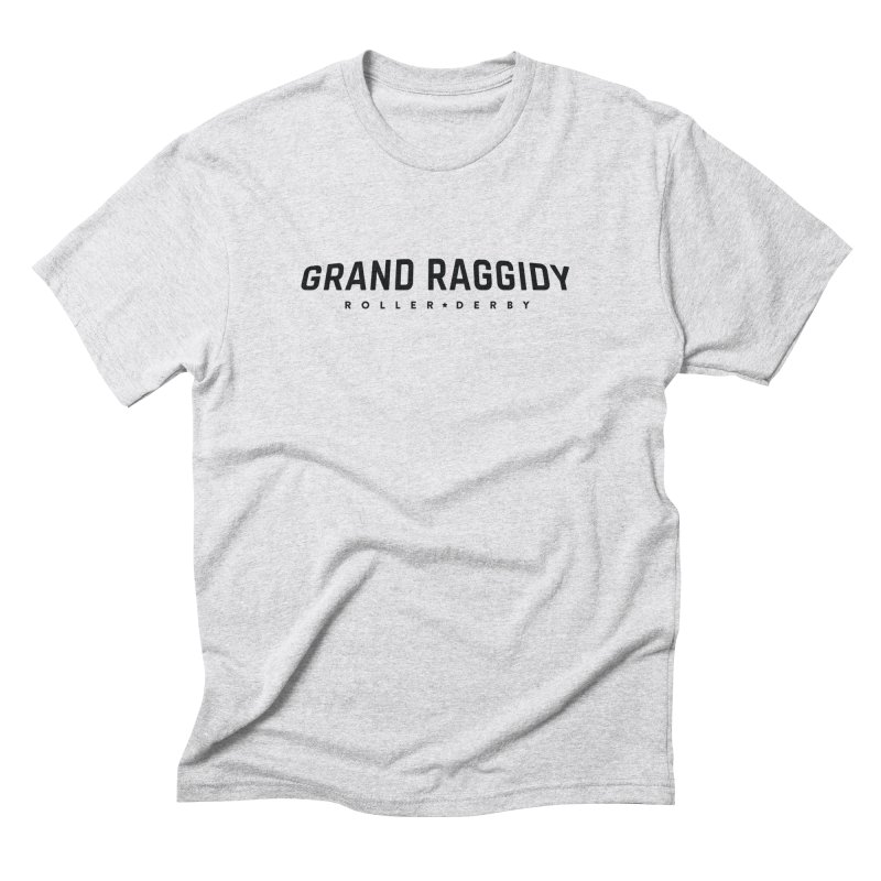 Wordmark Men's Triblend T-Shirt by Grand Raggidy Roller Derby