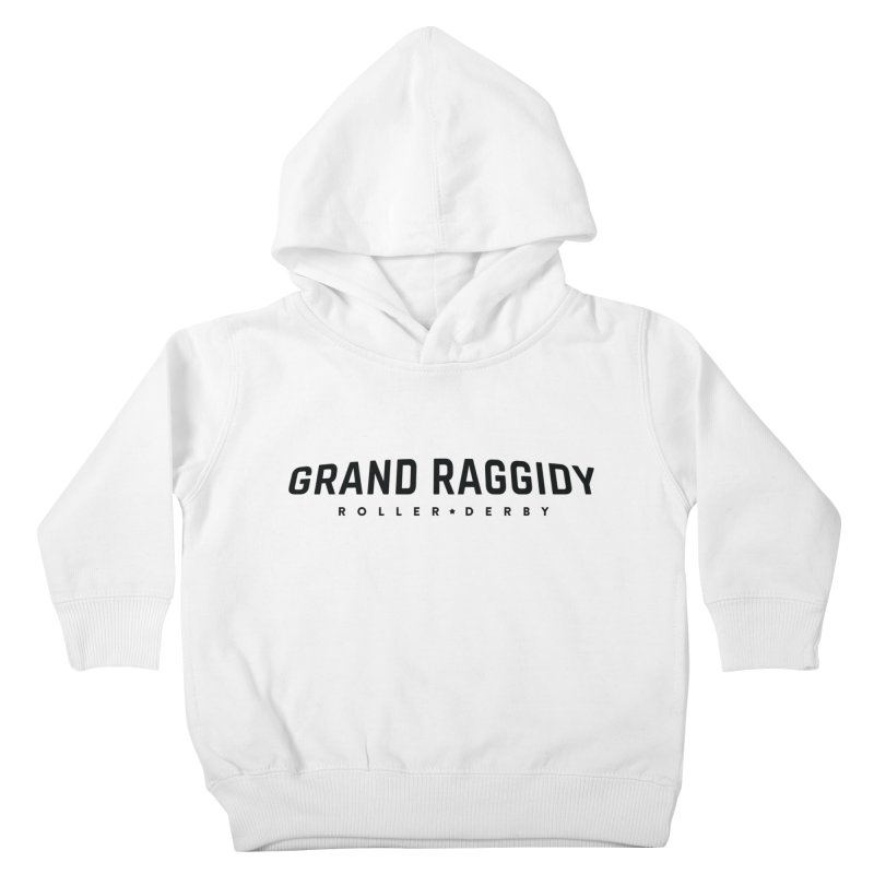 Wordmark Kids Toddler Pullover Hoody by Grand Raggidy Roller Derby
